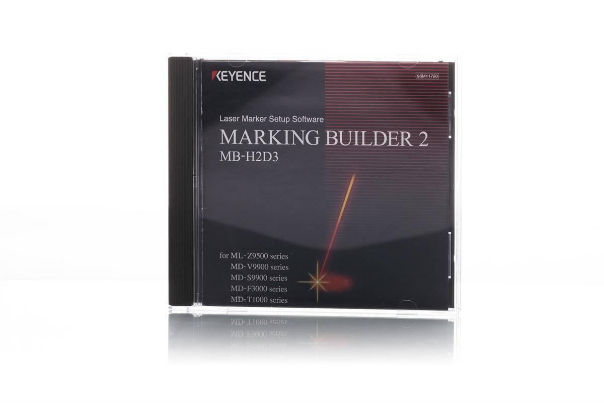 Keyence MB-H2D3-DVD Marking Builder 2 (2D)