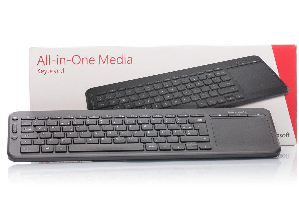 Microsoft All-in-One Media Keyboard (German) N9Z-00008