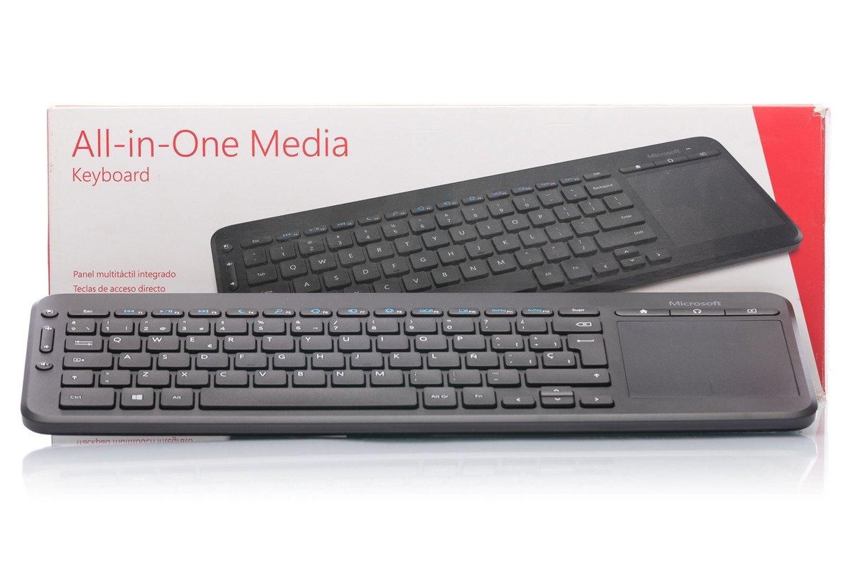 Microsoft All-in-One Media Keyboard (Spanish)