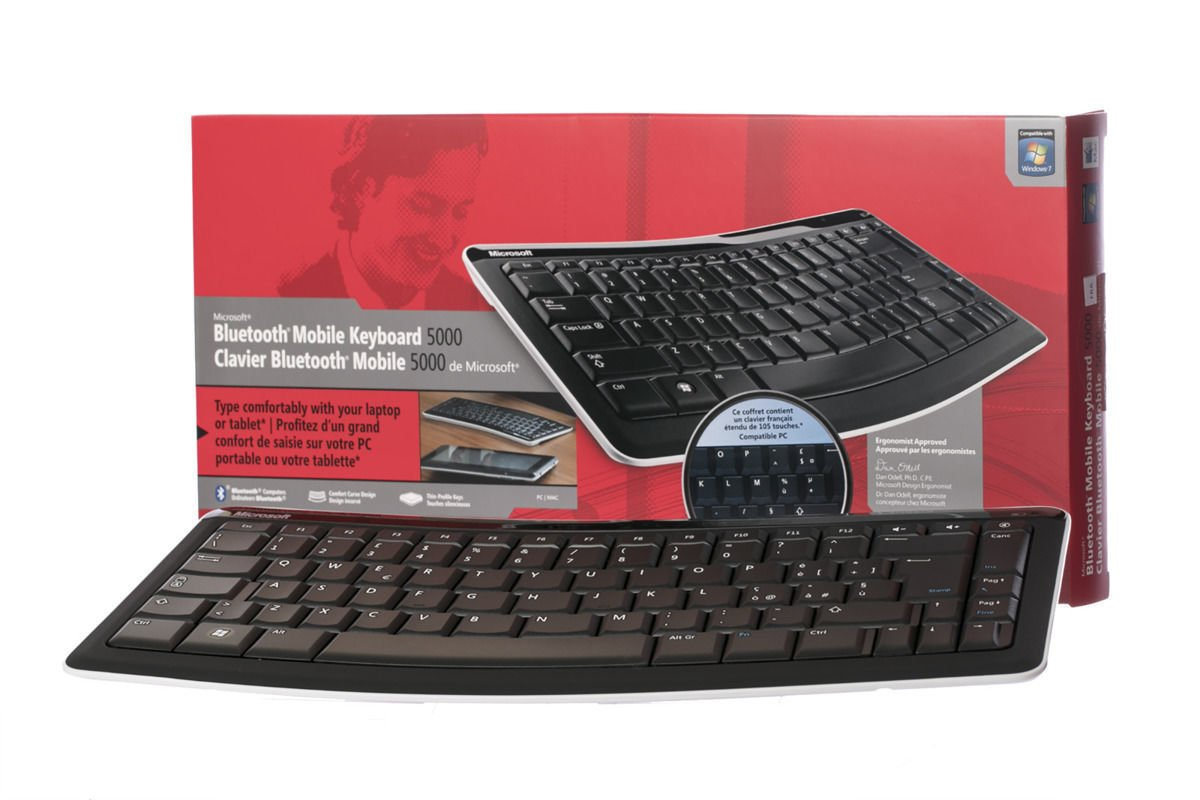 Microsoft Bluetooth Mobile Keyboard 5000 Belgian T4L-00007