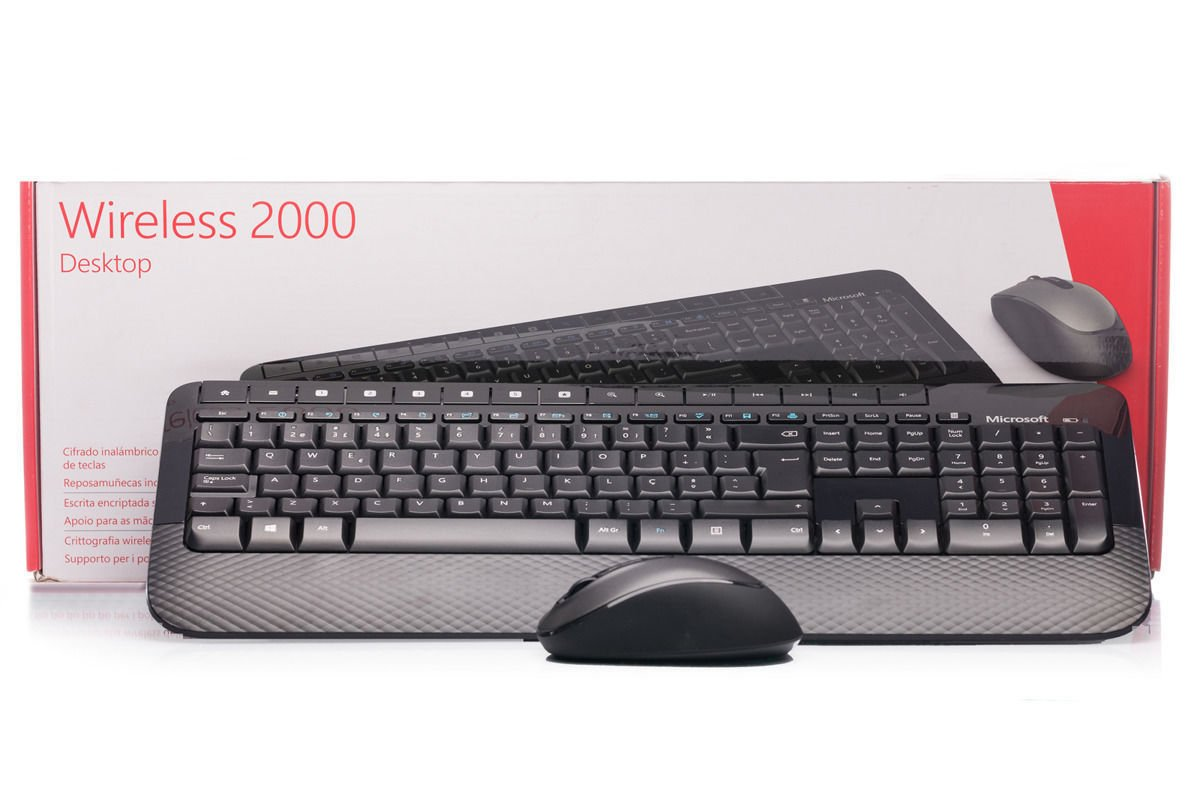 Microsoft Wireless 2000 Desktop (Portuguesse / Português) M7J-00007