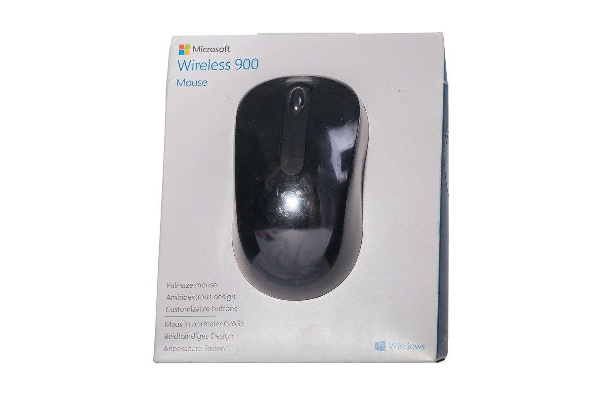 Microsoft Wireless 900 Mouse PW4-00004 Black