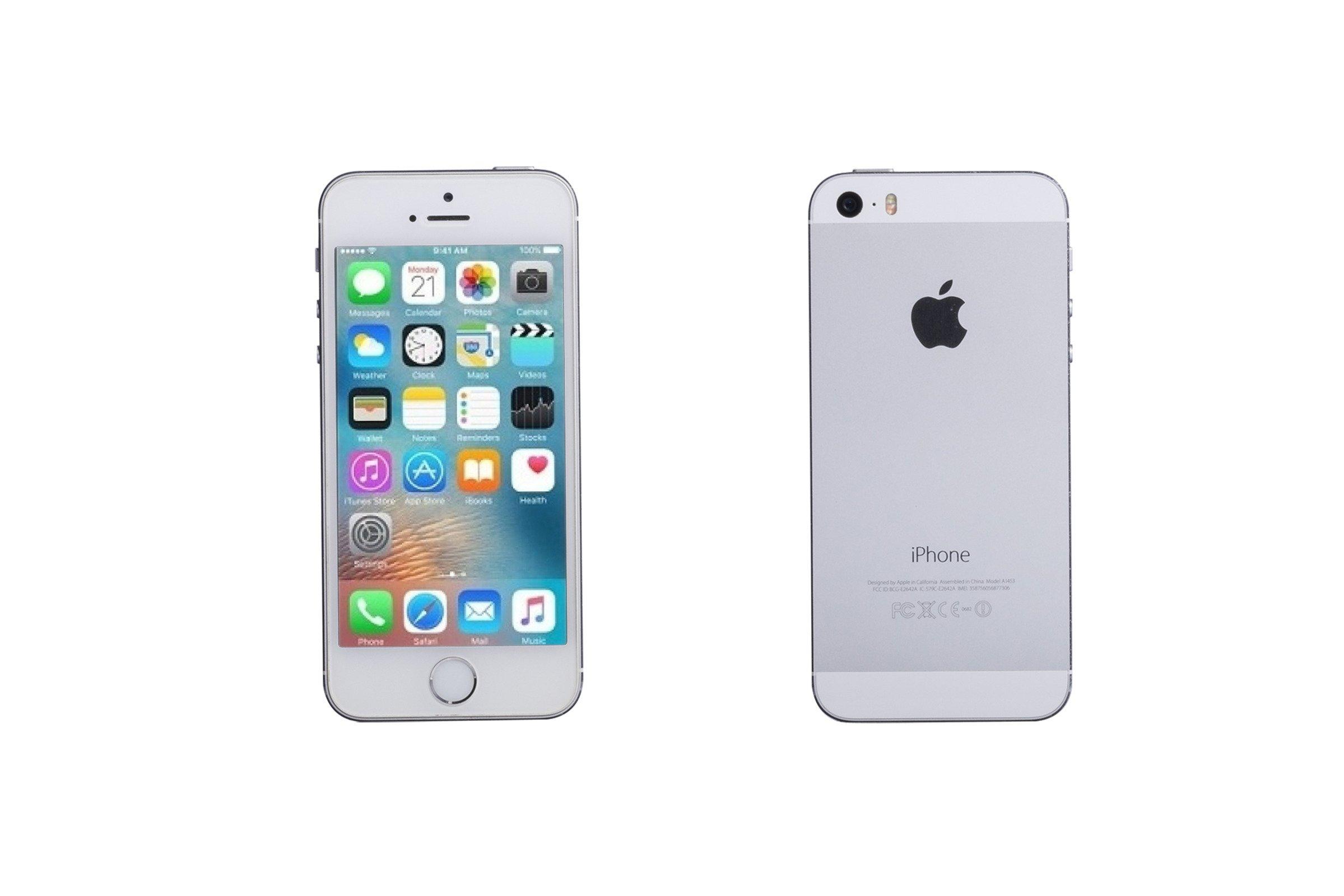 Apple Iphone 5S 32GB Silver A1453 Grade B  98d348ca27
