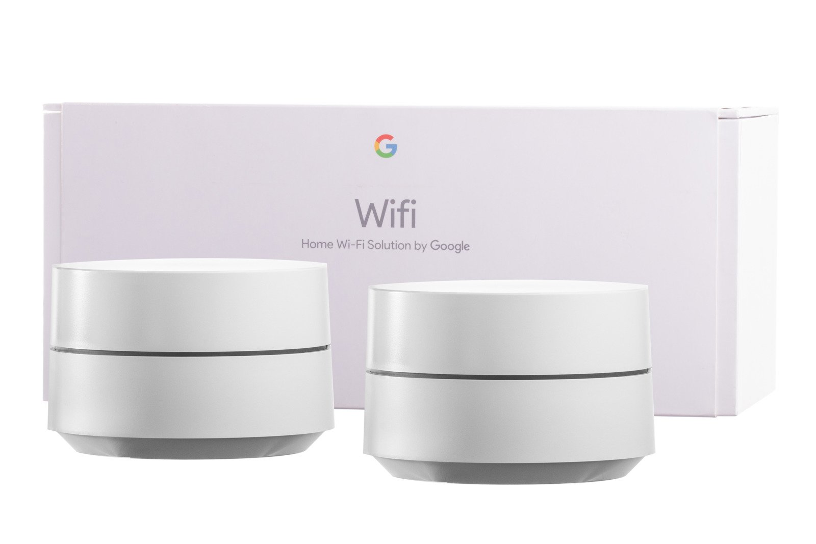 Google Wifi 2-Pack Home Wi-Fi System NLS-1304-25 Without charger