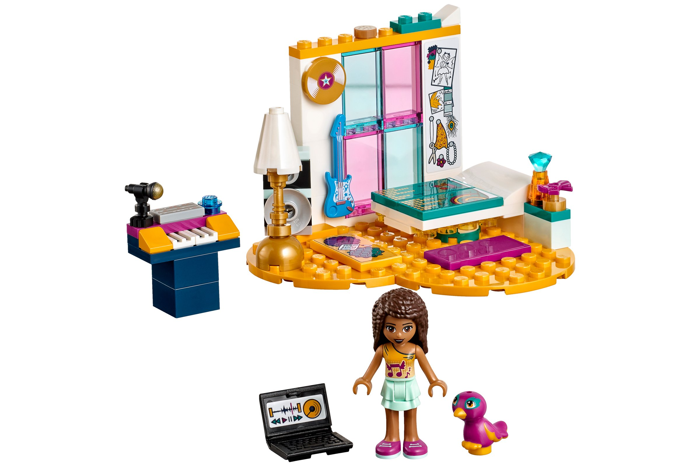 Lego Friends 41341 Andreas Bedroom House And Garden Toys Lego