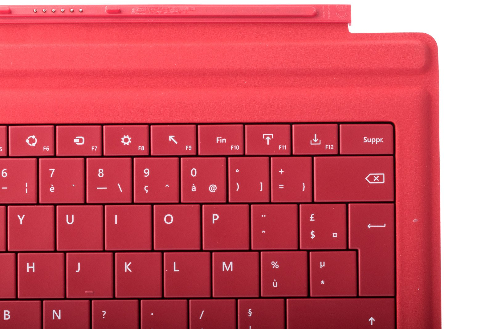 Microsoft Surface Cover With Keyboard Red Pro Type Black Fingerprint Bnib Product Eng French Azerty Grade 1600x1067