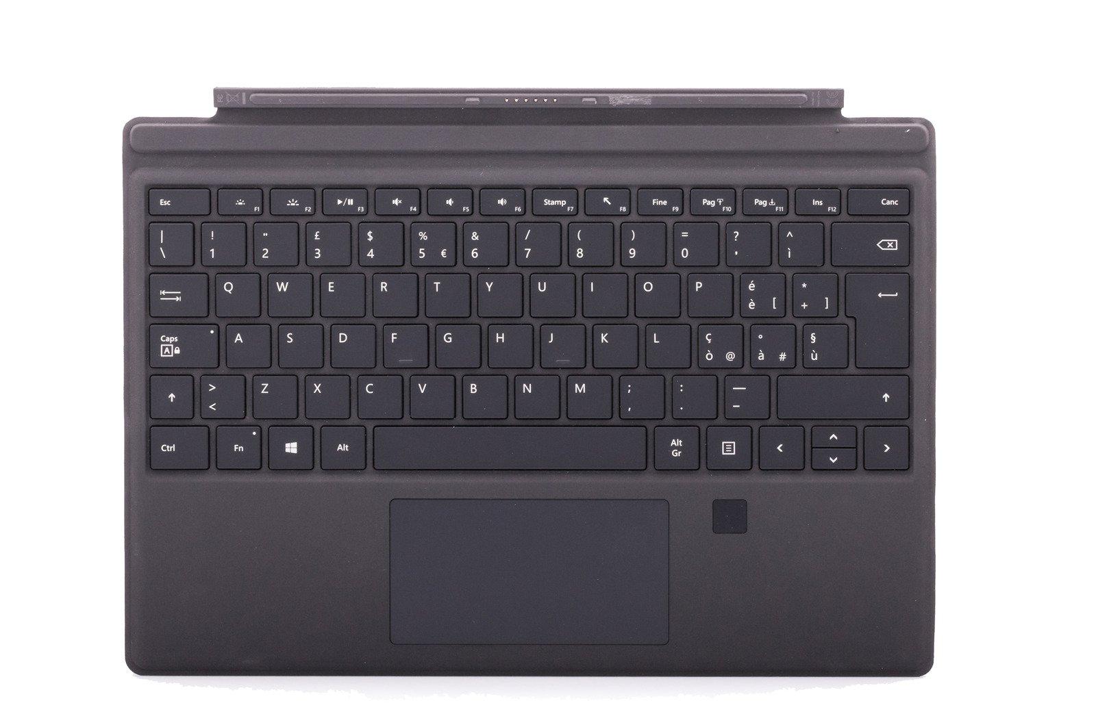 Keyboard Surface Type Cover Pro 4 Finger ID Black Grade A (Italian)