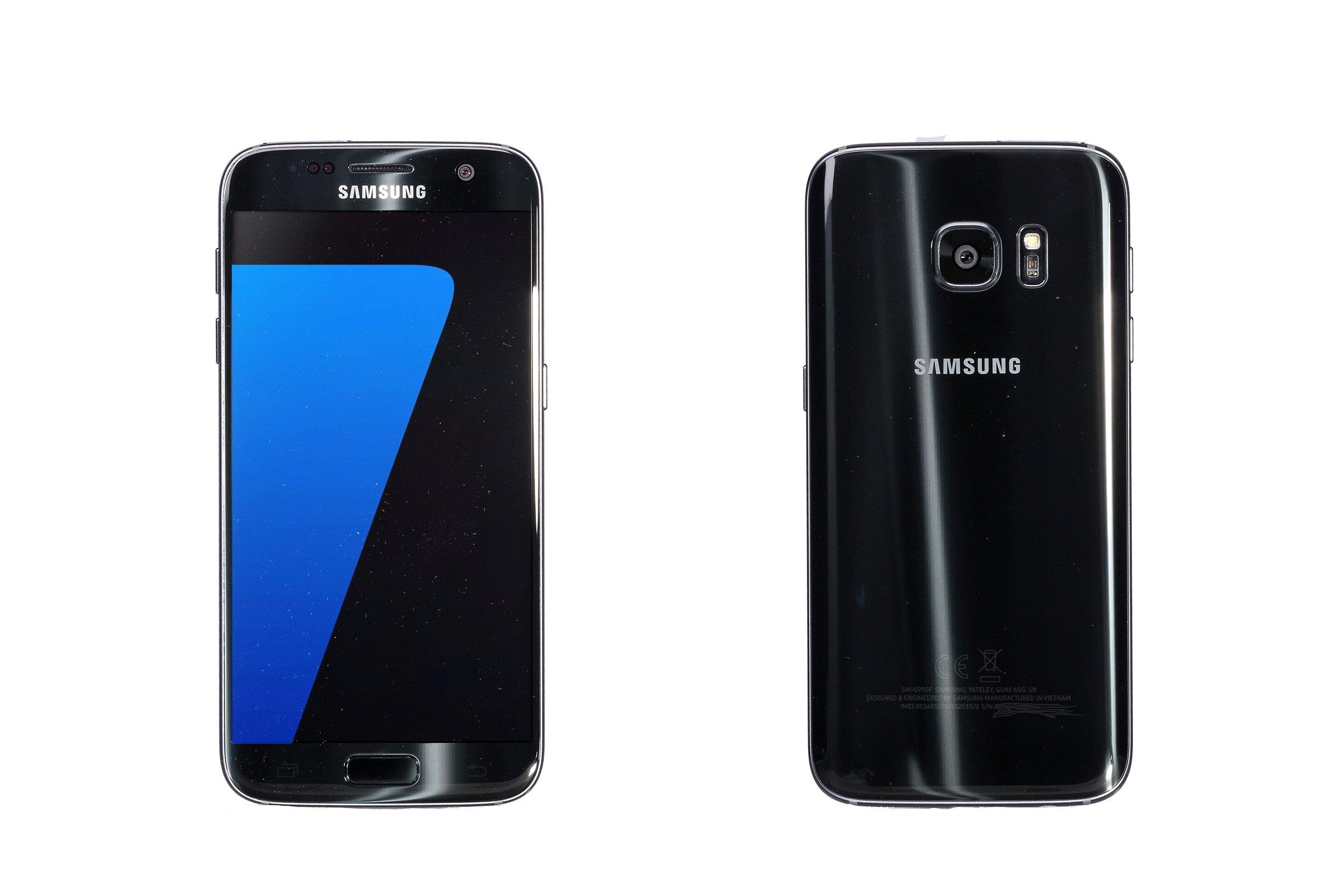 Samsung Galaxy S7 Black Onyx SM-G930F replacement box