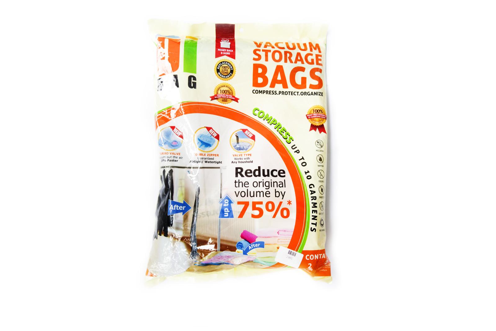 7 Bags Pack Vacuum Storage Space Saver Bags
