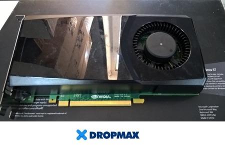 Graphics card NVIDIA GTX555