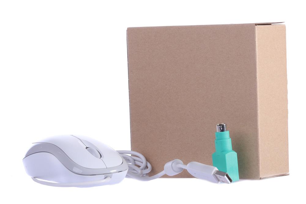 Microsoft Basic Optical Mouse (White,box)