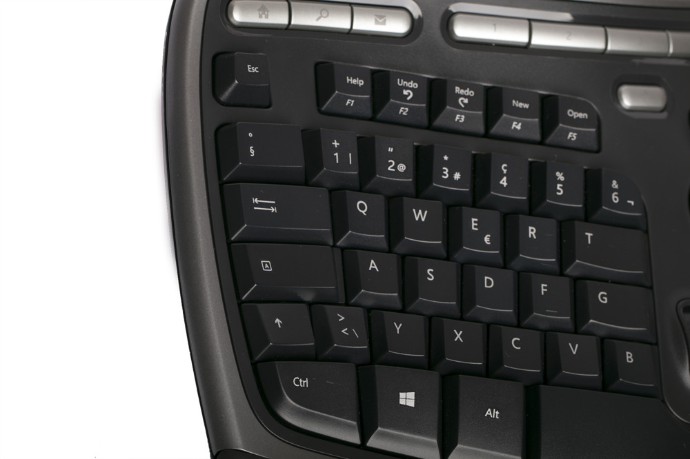 Microsoft Natural Ergonomic  Keyboard 4000 (Swiss / Schweizer)