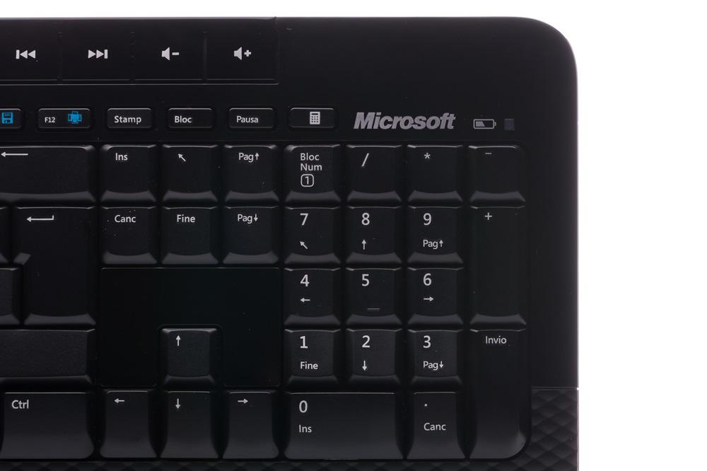 Microsoft Wireless 2000 Desktop (Italian / Italiano)