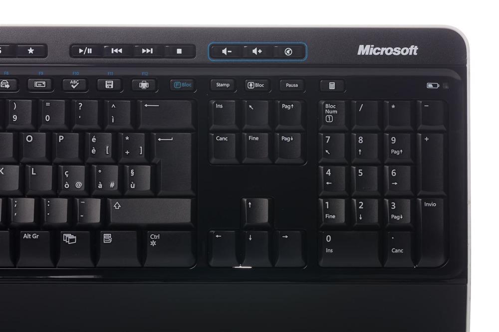 Keyboard + Mouse Set Microsoft Wireless 3000 Desktop (Italian) MFC-00015