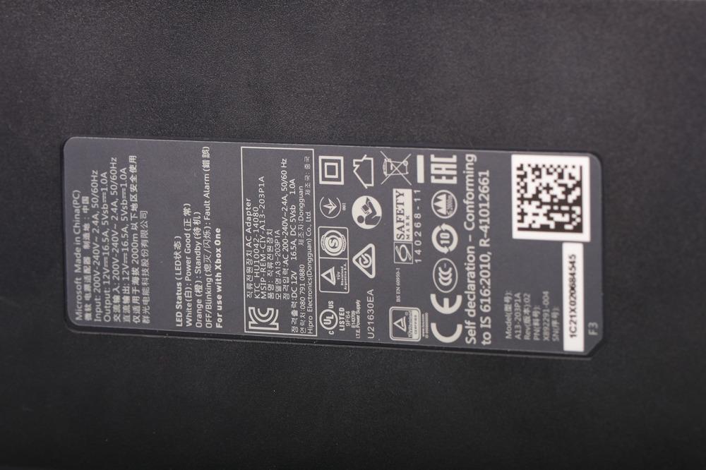 Original Microsoft Adapter Power Microsoft XBOX One
