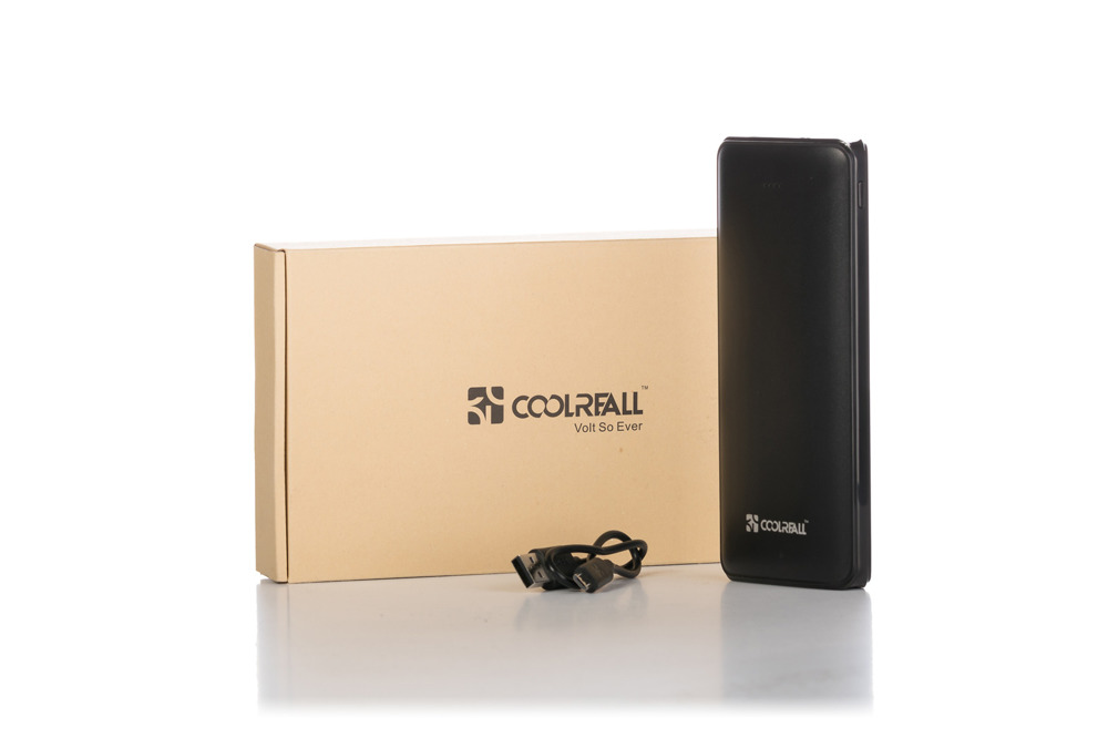 Powerbank Coolreal K6 15600mAh 2 ports with flashlight