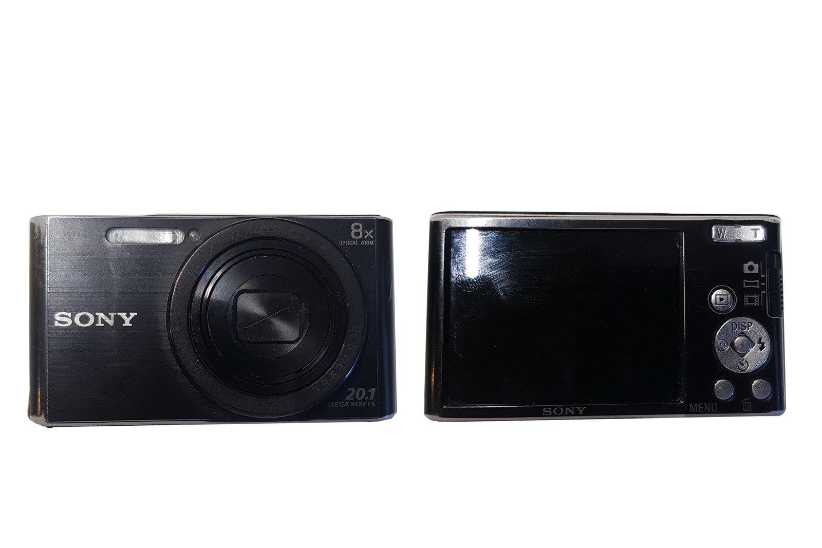 Sony Cyber-shot DSC-W830 Compat Camera 20.1Mpx Zoom 8x Black Grade C