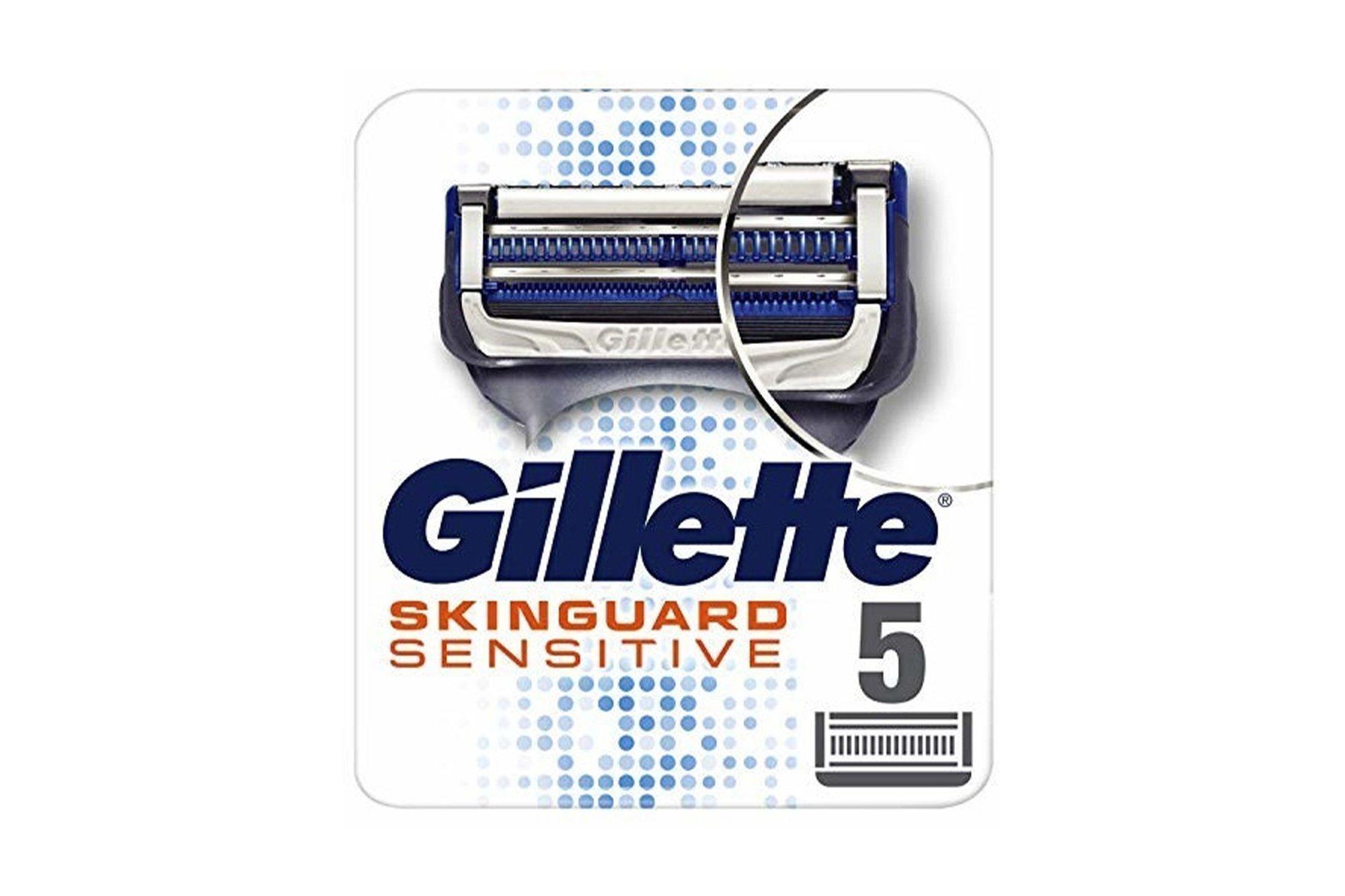 Ostrza wymienne Gillette Skinguard Sensitive 5 szt