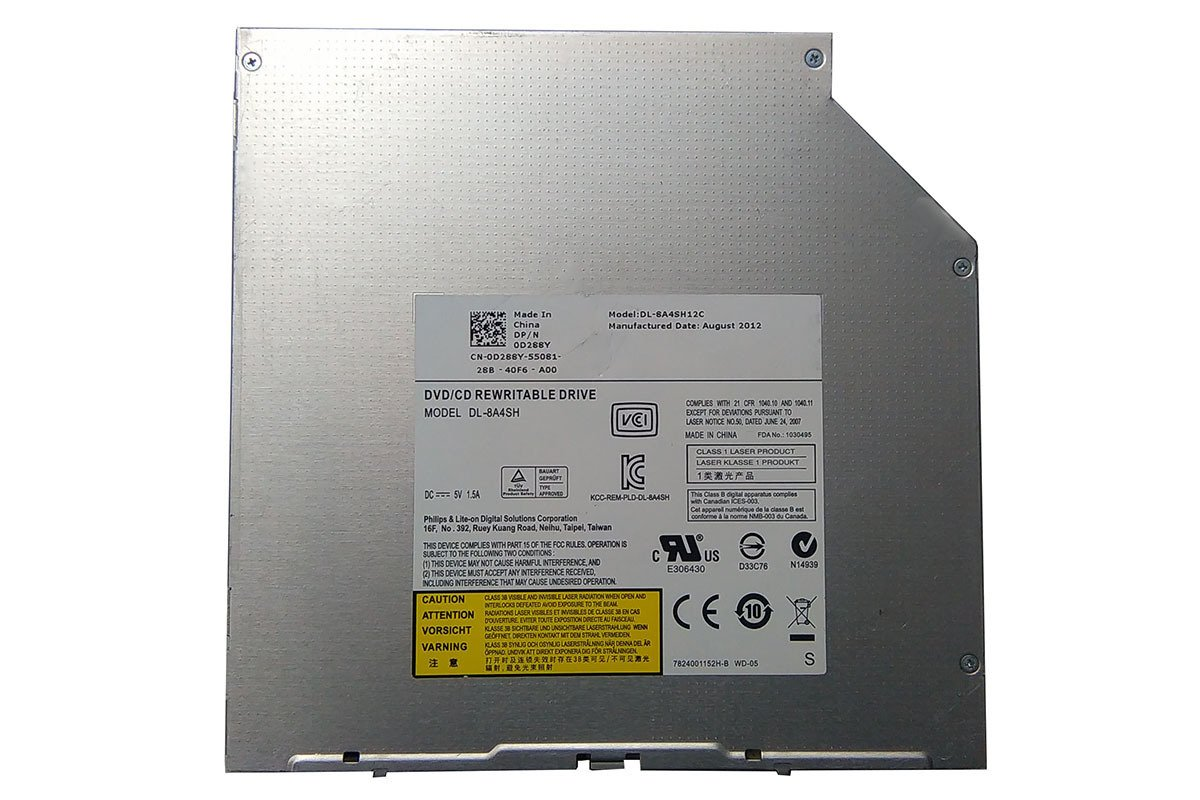 Philips Lite On DVD±RW for DELL Alienware M18X M17X M17X R3 DL-8A4SH