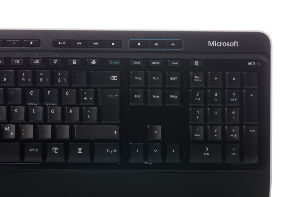 Klawiatura Microsoft Wireless 3000 Desktop (Niemiecka)