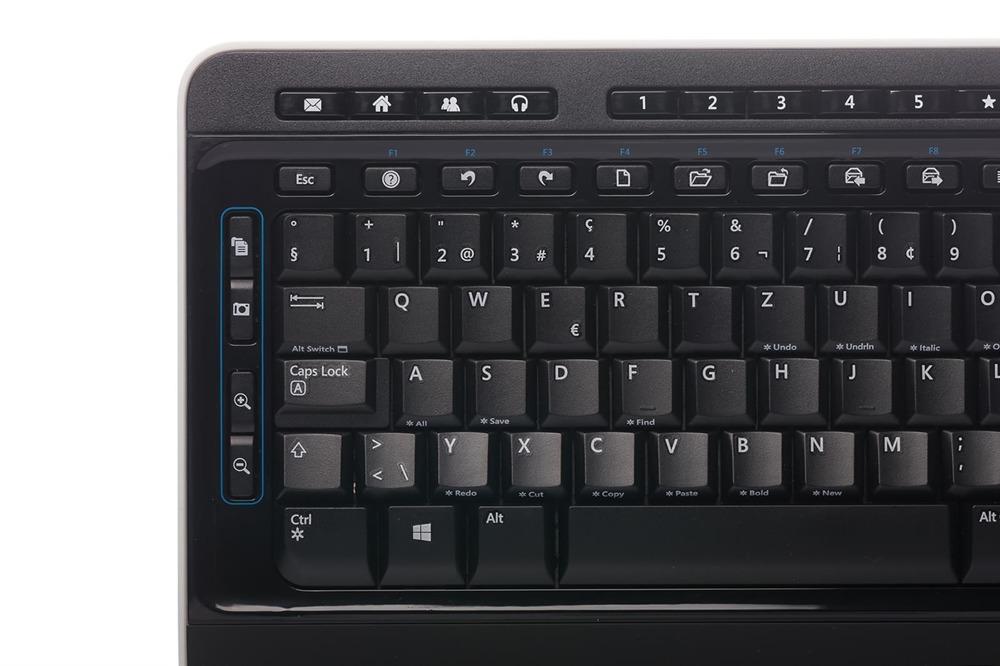 Klawiatura Microsoft Wireless 3000 Desktop (Szwajcarska)