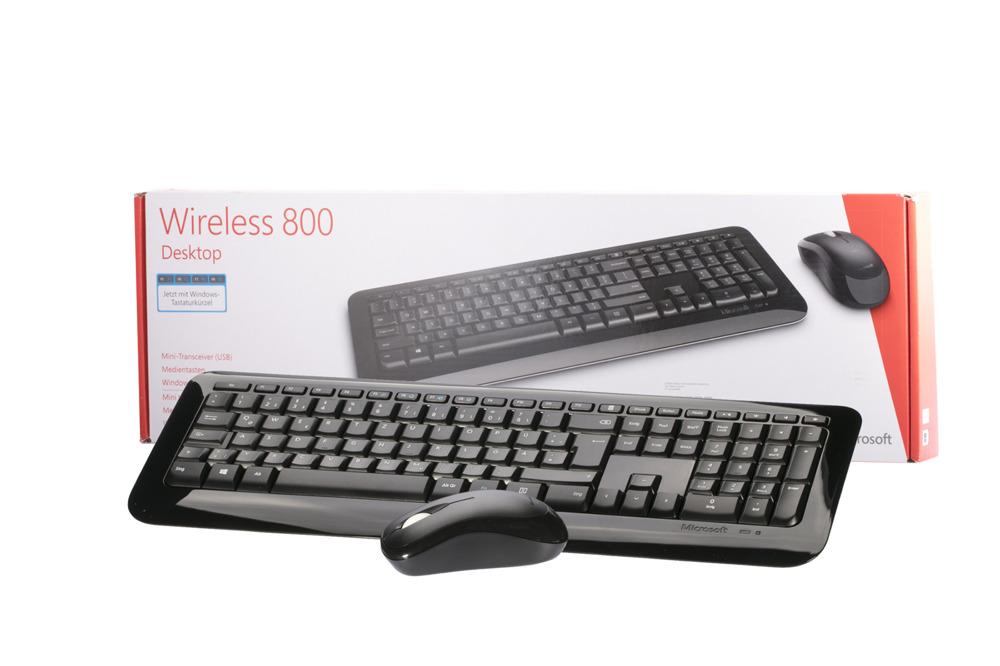 Klawiatura Microsoft Wireless Desktop 800 (Niemiecka)