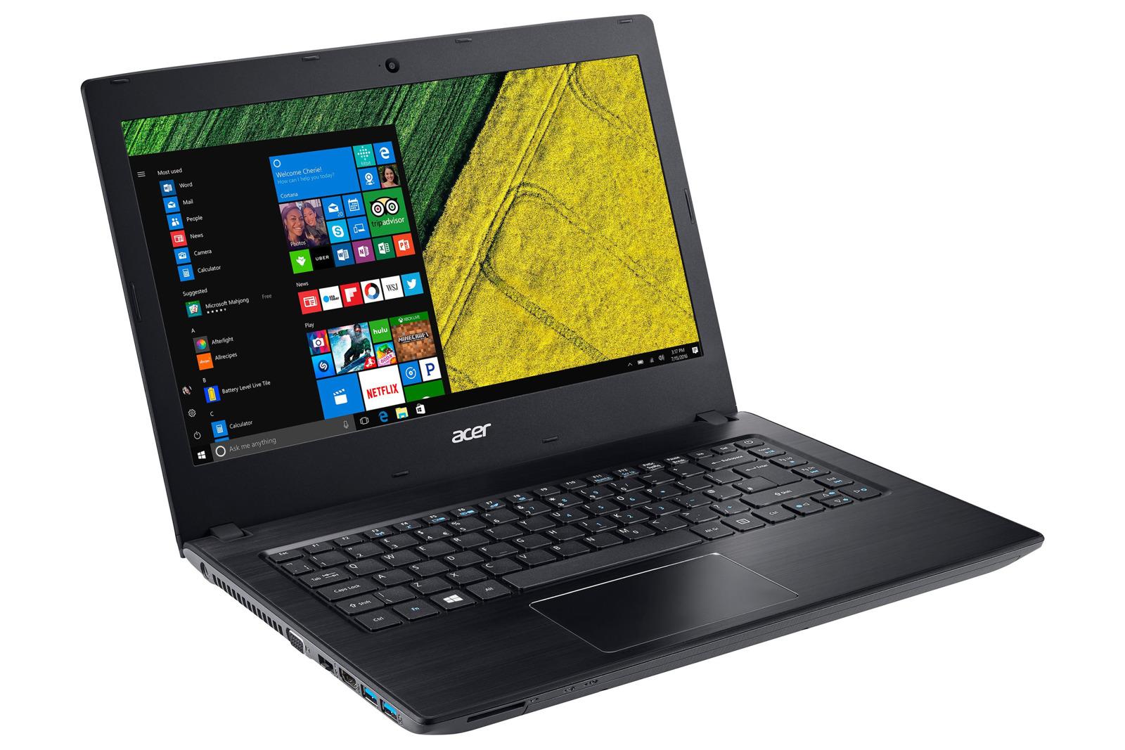 Laptop Acer Aspire E5 14 FHD i3 4GB 256GB SSD