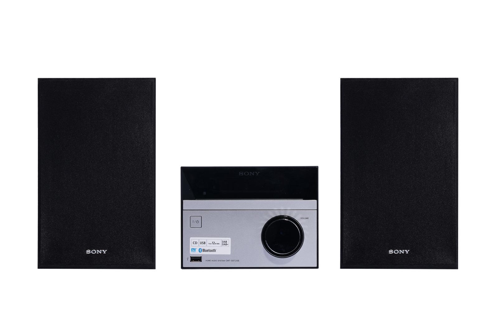 Mini wieża Sony CMTSBT20B Bluetooth Grade B
